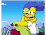 """The Simpsons Movie"" Movie Still"