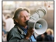 The Pianist movie still: Director Roman Polanski on the set of The Pianist