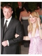 Guy Ritchie and Madonna at the 2006 Vanity Fair Oscar Party