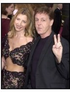 Paul McCartney and Heather Mills at the 2002 Academy Awards