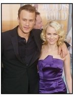 10th Annual SAG Awards -Heath Ledger and Naomi Watts - Red Carpet