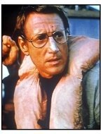 Jaws movie still: Roy Scheider as Martin Brody