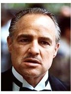 """The Godfather"" Movie Still: Marlon Brando"