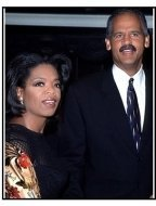 "Oprah Winfrey and Stedman Graham at the ""Beloved"" Premiere"
