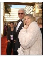 61st Annual Golden Globe Awards--Red Carpet--James Brolin and Barbra Streisand--HFPA--ONE TIME USE ONLY