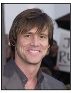 "Jim Carrey at the ""Bruce Almighty"" premiere"