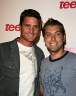 Reichen Lehmkuhl and Lance Bass
