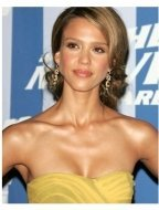 Jessica Alba in the press room at the 2006 MTV Movie Awards