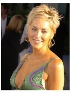 """Sharon Stone at the """"Catwoman"""" premiere"""