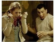 Saw II Movie Stills: Beverley Mitchell and Franky G