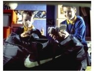 Millions Movie Still: Alex Etel and Lewis McGibbon