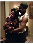 Ray Movie Still: Regina King and Jamie Foxx