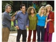 Meet the Fockers Movie Still: Dustin Hoffman, Ben Stiller, Barbra Streisand, Teri Polo and Blythe Danner