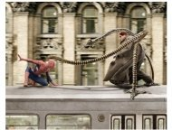 """""""Spider-Man 2"""" Movie still: Tobey Maguire and Alfred Molina"""