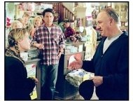 """""""Welcome to Mooseport"""" Movie still: Maura Tierney, Ray Romano and Gene Hackman"""