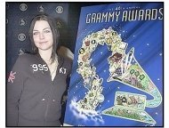 Amy Lee of Evanescence at the Nominations Announcement for the 46th Annual Grammy Awards