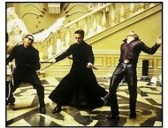 """The Matrix Reloaded"" Movie stills:Keanu Reeves"