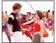"""From Justin to Kelly"" Movie Still: Justin Guarini and Kelly Clarkson"
