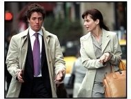 Two Weeks Notice movie still: Hugh Grant and Sandra Bullock in Two Weeks Notice