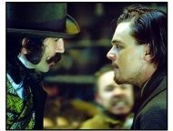 Gangs of New York movie still: Daniel Day-Lewis and Leonardo DiCaprio in Gangs of New York