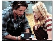The Ring movie still: Investigative reporter Rachel Keller (Naomi Watts) enlists the help of her friend Noah (Martin Henderson) to unravel the mystery of a terrifying videotape that dooms anyone who w