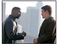 Training Day movie still: Denzel Washington and Ethan Hawke