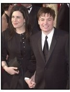 Mike Myers and wife at the 2001 Academy Awards