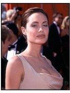 Angelina Jolie at the 1998 Emmy Awards