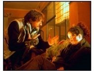 Harrison's Flowers movie still: Adrien Brody as Kyle and Andie MacDowell as Sarah