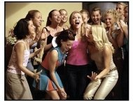 Legally Blonde movie still: Reese Witherspoon and friends