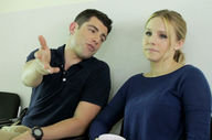 'Veronica Mars' On Set with Max Greenfield