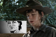 'The Walking Dead' Season 4 Drawing Inspiration