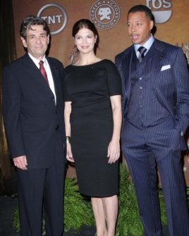 Alan Rosenberg with Jeanne Tripplehorn and Terrence Howard
