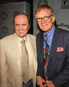 Bob Newhart and Jack Riley