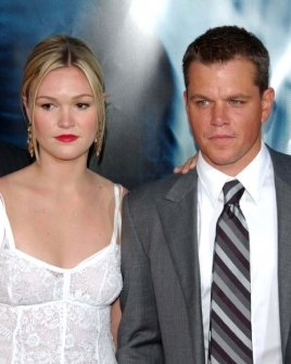 Julia Stiles and Matt Damon