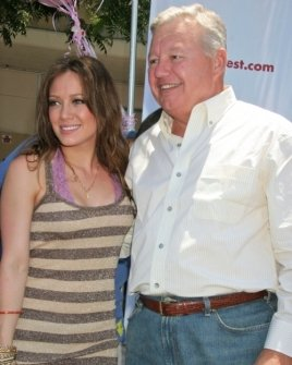 Hilary Duff and Stan Curtis