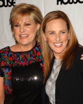 Lorna Luft and Marlee Matlin