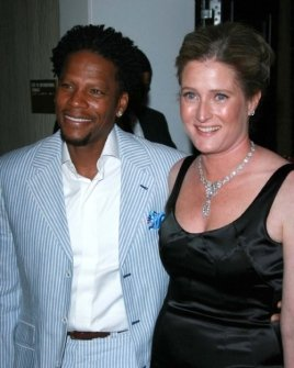 D.L.  Hughley and Linda Daly