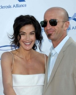 Teri Hatcher and Stephen Kay