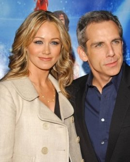 Christine Taylor and Ben Stiller