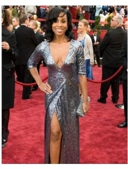 Academy Award performer Anika Noni Rose arrives at the 79th Annual Academy Awards at the Kodak Theatre in Hollywood, CA, on Sunday,