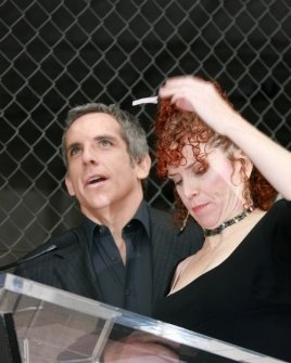 Ben Stiller and Amy Stiller