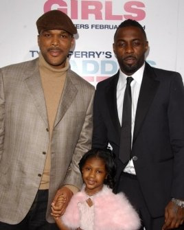 Tyler Perry with Lauryn Alisa McClain and Idris Elba