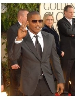 64th Annual Golden Globes Awards Red Carpet: Jamie Foxx
