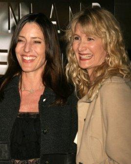 Cecilia Peck and Laura Dern