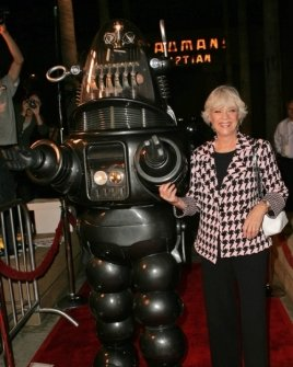 Robby The Robot and Anne Francis