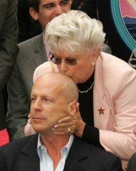 Bruce Willis and mother Marlene Willis