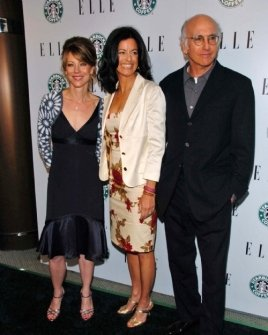 Roberta Myers with Laurie David and Larry David