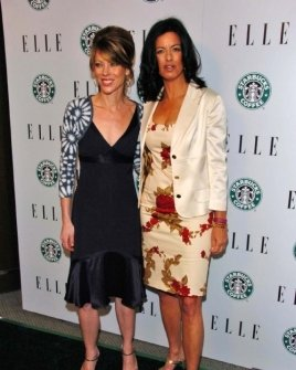 Roberta Myers and Laurie David