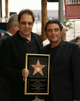 David Milch and Ian McShane